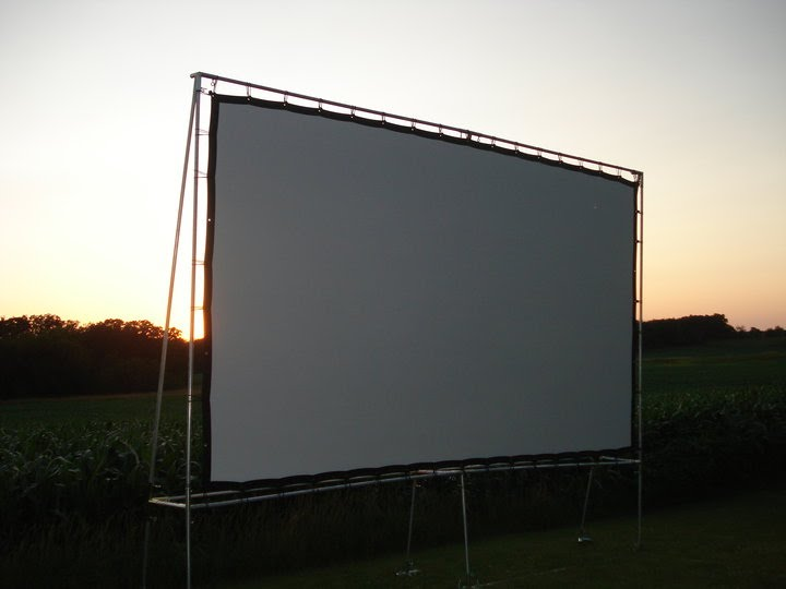 Outdoor Movie Screen Rental Perfect For Intimate And